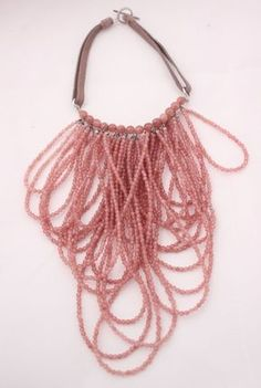 Brunello Cucinelli Short Pink Stone Jewelry Necklace New w Gift Bag 2250$ | eBay