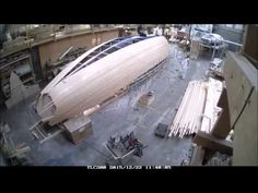 Spirit 47' cruising yacht in build