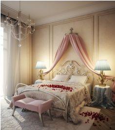 예쁜 침대