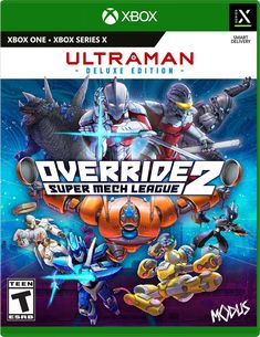 Override 2: Deluxe Edition Xbox One, Comic Books, Teen, Comics, Drawing Cartoons, Teenagers, Comic Book, Comic, Comic Strips