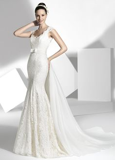 Wedding dress. Franc Sarabia 2013