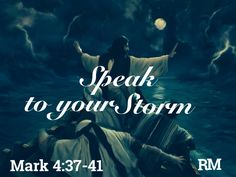 """SPEAK PEACE TO THE STORM - I say to you, be still and listen as I speak peace into your life. Yes, I am more than able to calm the storm for you; but if I do, how will you ever learn to use the authority that I've given you?  How will you ever grow?  I have given you the authority to rebuke the storm. Now, speak as I speak, """"Peace, be still, peace be still.""""  Say it over and over until you feel My presence come into your situation. Can you feel it? Can you feel My presence ministering to…"""