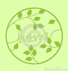 home-word-green-text-handwritten-font-green-leaves-circle-isolated-white-background-l-love-life-hope-health-green-eco-safety-security-concept Vector Company, Company Logo, Safety And Security, Handwritten Fonts, Green Leaves, Logo Design, Concept, Logos, Health