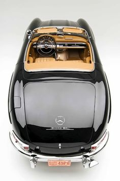 Mercedes 300SL roadster, one of my favorite cars of all times.