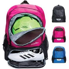 829217a77f0 Athletico Youth Soccer Bag - Soccer Backpack Youth Soccer, Basketball,  Cleats, Backpack Bags