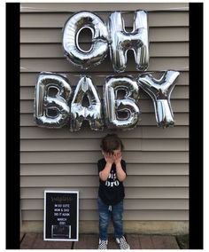 Sibling Baby Announcements, Baby Surprise Announcement, Big Brother Announcement, Unique Baby Announcement, Cute Pregnancy Announcement, Pregnancy Announcement Photos, Birthday Baby Announcement, New Baby Products, Boy Babies