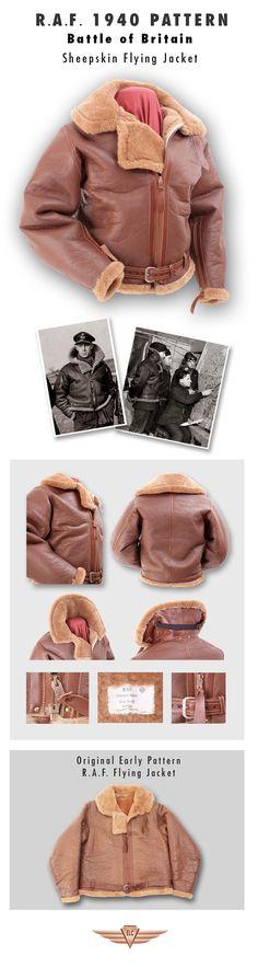 Eastman Leather Clothing - British Flight Jackets : Raf40