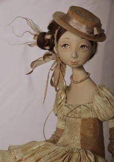 Авторская кукла Тамары Пивнюк
