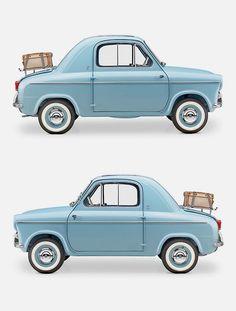 Veespa 400 Micro Car, late 1950s.