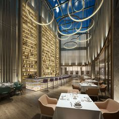 A curated selection of the best five luxury restaurants with outstanding interiors to visit and enjoy in Milan. Luxury Restaurant, Modern Restaurant, Restaurant Interior Design, Luxury Interior Design, Restaurant Interiors, Restaurant Ideas, Design Interiors, Vintage Industrial Decor, Industrial House