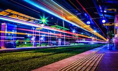 Tram lights* by Emmanouel  on 500px