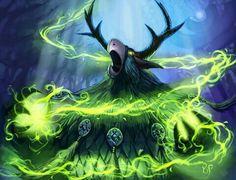 Moonkin magic druids