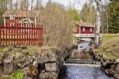 Peaceful part of Kopparberg town.