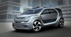 The battery-powered self-driving Chrysler Portal concept minivan was unveiled at the CES 2017 in Las Vegas.The Chrysler Portal concept is designed to keep the Chrysler 300, Chrysler Minivan, Chrysler News, Mini Vans, Electric Van, Electric Vehicle, Monospace, Concept Cars, Autos