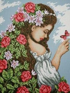 meroSmero arte em bordados: Eu vejo flores em você!