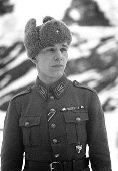 Knight of the Mannerheim Cross, Staff Sergeant Mikko Pöllä.