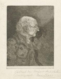 Gabriël van Rooyen | Portret van Gabriel van Rooyen en H. Langeveld, Gabriël van Rooyen, 1762 - 1817 | Portret van de kunstschilder Gabriel van Rooyen en van de tekenaar H. Langeveld.