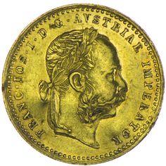 Franz Joseph I. 1848 - 1916 Dukat 1872 Gold, als Belegstück geeignet !
