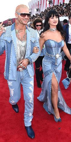 BAA!!!! Britney & Justin flashback. Love this. Riff Raff and Katy Perry on the red carpet 2014