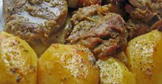 Ελληνικές συνταγές για νόστιμο, υγιεινό και οικονομικό φαγητό. Δοκιμάστε τες όλες Greek Recipes, Pork Recipes, Cooking Recipes, Baked Potato, French Toast, Dinner Recipes, Food And Drink, Breakfast, Ethnic Recipes