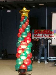 OSM Manila year-end party, participated by almost seafarers and family members. Held at Coral A and Coral B of One Esplanade and at Bay Ballroom of One Esplanade. Christmas Decorations, Christmas Tree, Holiday Decor, Balloon Pillars, Party Needs, Manila, Balloons, Coral, Teal Christmas Tree