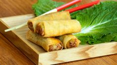 Vegetarian spring rolls recipe / لفات الخضر