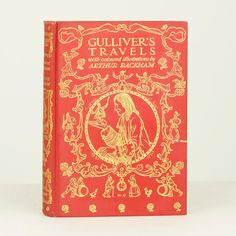 Gulliver's Travels by Jonathan Swift, illustrated by Arthur Rackham