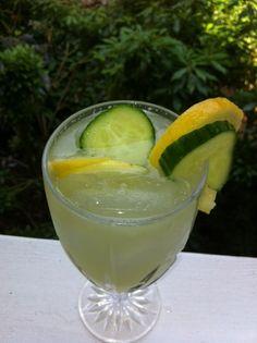 Cool Cucumber Lemonade.