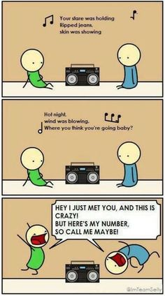 I know some teenagers who do this. ;) (okay, so I do, too....)