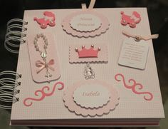 Livro de mensagens Princesa | Sweet Scrapbook | Elo7