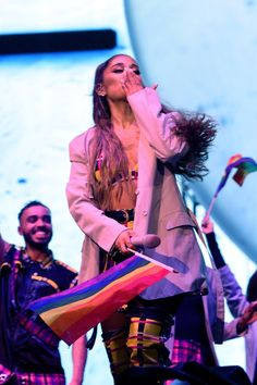 Ariana Grande Performs at Final Night of Lollapalooza in Chicago 08042019 Celebs of World Ariana Grande Fotos, Ariana Grande Pictures, Nicki Minaj, Retro Vintage, Indie, Ariana Grande Wallpaper, Lollapalooza, Dangerous Woman, Queen