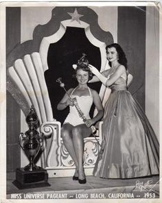Miss USA 1953 Myrna Rae Hansen