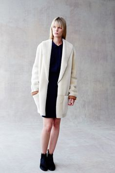 Shearling Cardigan #billyreid  http://www.billyreid.com/product/shearling-cardigan-ivory.html