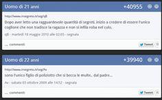 Seconda parte: il meglio del meglio di #insegreto: il popolare sito di segreti italiani #insegreto #ridere #segreti #foto