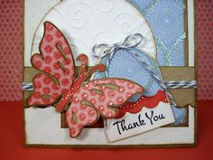 Cricut - Indie Arts - Butterfly page/card/book