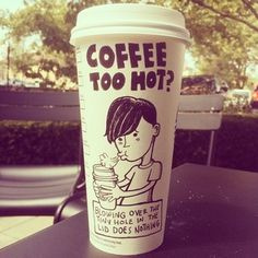 This Man's Starbucks Cup Doodles Would Brighten Up Anyone's Day | Buzzfeed