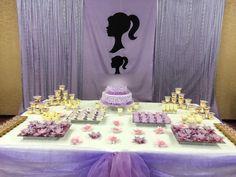 Barbie party decoration