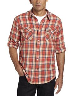 True Grit Men's Harley Roots Plaid Flannel Long « Clothing Impulse