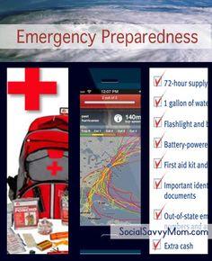 Emergency Preparedness List, Apps & Resources