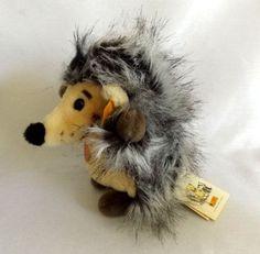 Plush Steiff Hedgehog  Merry Farmland by LinzeyLovesDonny on Etsy