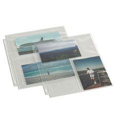 Landscape XL Square White Pages A3//XL Square Family Tree Roots Keepsake Card Pages Scrapbook Photo Album