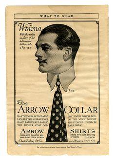 Arrow Collar Shirts, Winona - J.C. Leyendecker 1913