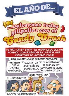 El año de Candy Crush.