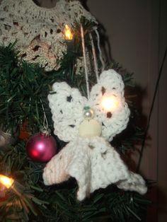BOGO Sale Crochet White Delicate Beautiful Angel by missy69