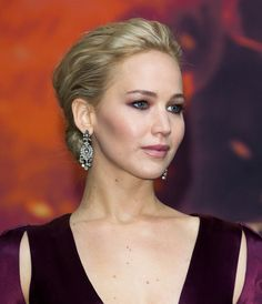 Les boucles d'oreilles Neil Lane de Jennifer Lawrence