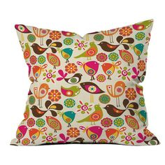 Valentina Ramos Little Birds Pillow at Joss & Main