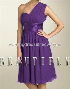 dark purple prom dress by glenda
