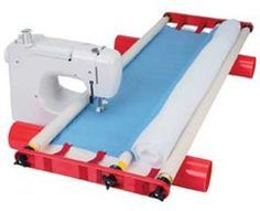 Flynn Multi-Frame Quilting System for machine quilting on a regular sewing machine. No long arm needed.