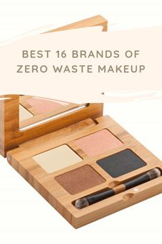Each year, many plastic beautifying sets are created, and only 30% of packaging is reused, and the rest of it goes into landfills. If we live a zero-waste lifestyle and use eco-friendly makeup products in our daily routine, then we can improve this figure!If you want to move to biodegradable, zero-waste cosmetics; however, do not perceive where to start, this list contains some great zero waste makeup companies that are perfect for your skin as well as the earth. Makeup Companies, Beauty Companies, Makeup Items, Makeup Products, Eco Friendly Makeup, Green Living Tips, Blusher, Clean Beauty, Zero Waste