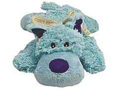 KONG Cozie Baily the Blue Dog, Medium Dog Toy, Blue KONG https://www.amazon.com/dp/B005AP3B0Q/ref=cm_sw_r_pi_dp_x_53BEybCQRQ4HD